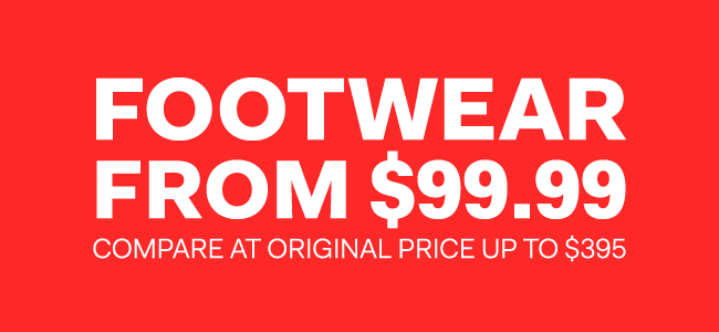 The Outlet - Boxing Week - Footwear from $99.99