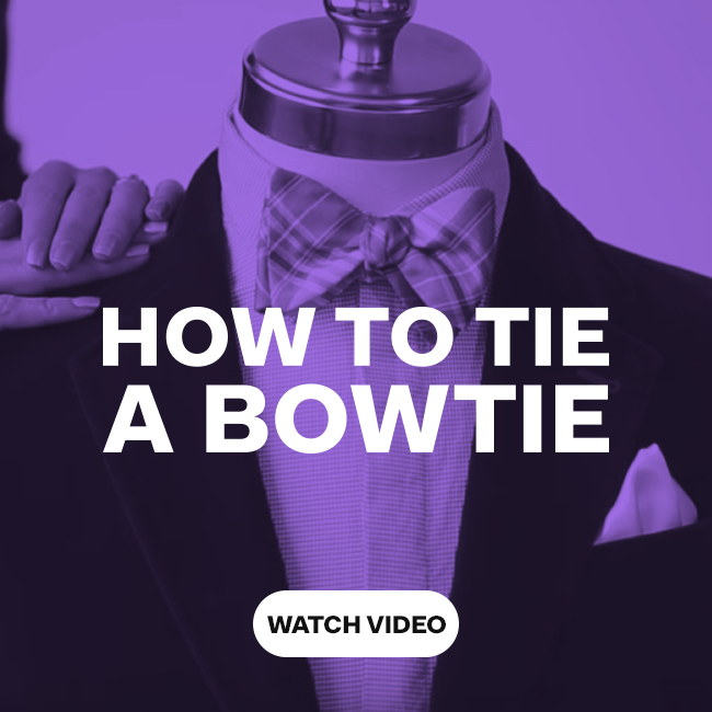 How to tie a bowtie - watch video